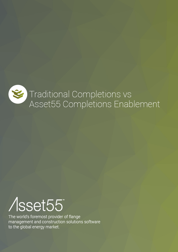 Traditional Completions vs Asset55 Completions Enablement PDF cover