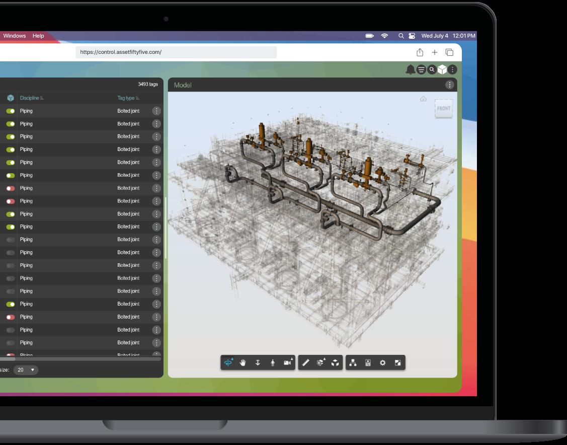 iQ Control 3D model screenshot