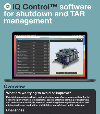 iQ Control shutdown and TAR management PDF cover