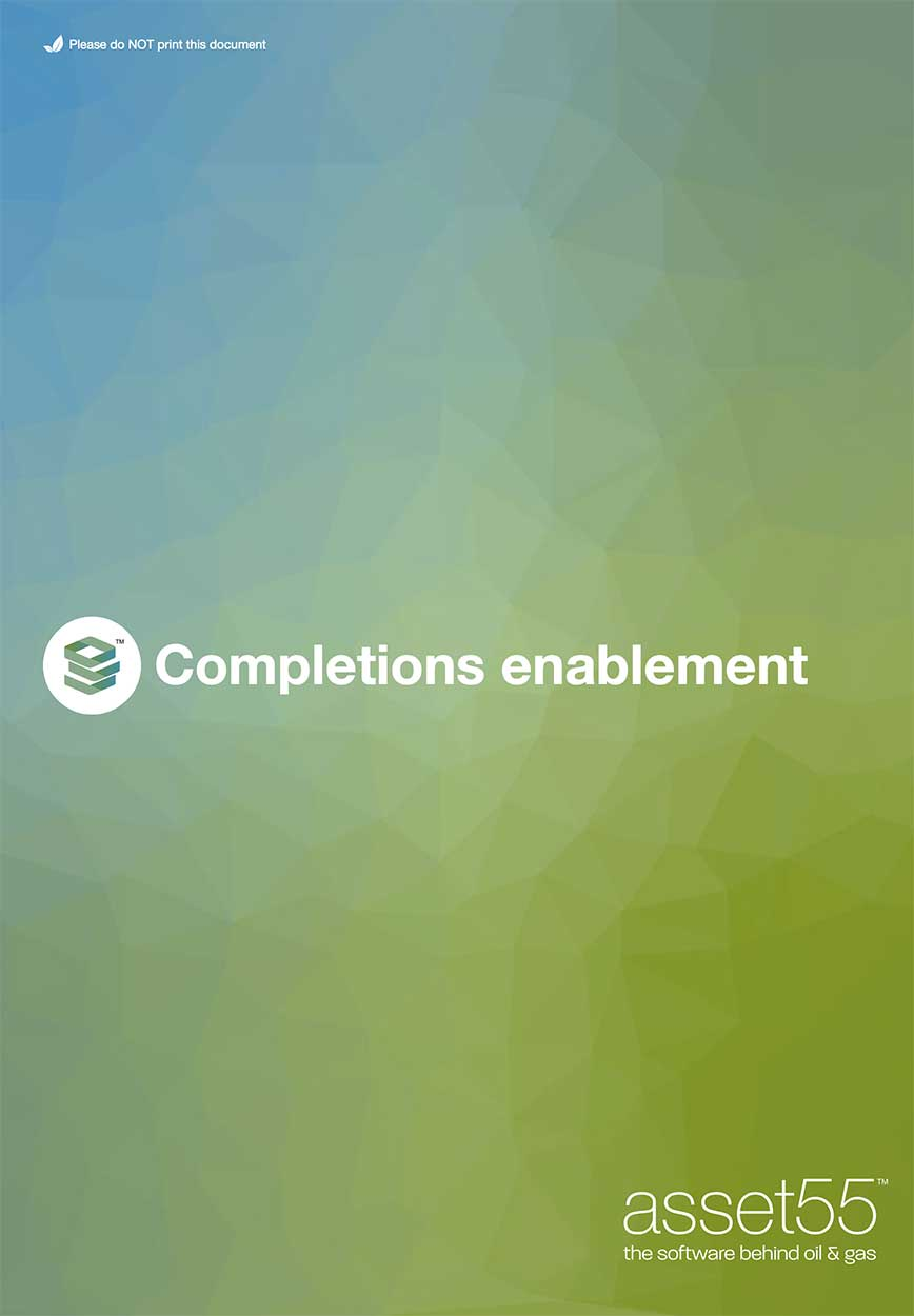Completions enablement